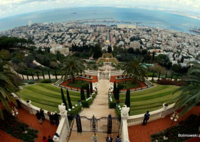 Ogrody Bahai - Haifa