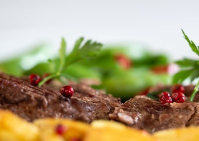 Mięsko, ziemniaczki i warzywka