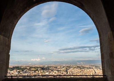 Widok z Castel Sant'Elmo