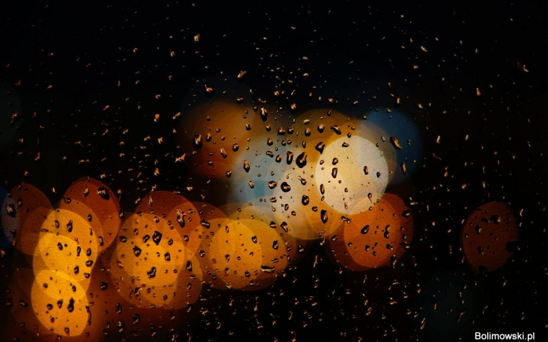 Kroplą deszczu namaluję cię