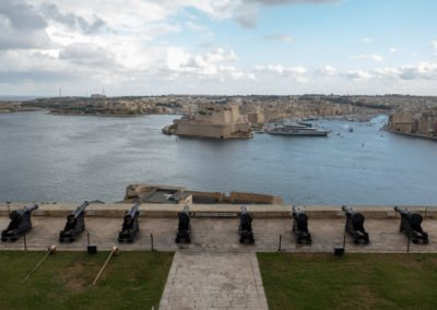 Valetta - The Saluting Battery